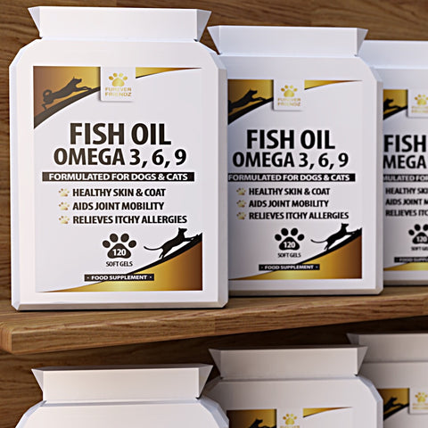 Fish Oil for Dogs & Cats (Softgels)
