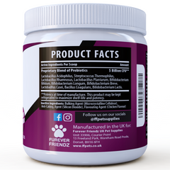 Probiotics for Dogs: Aids Good Digestive Health (Chicken Flavour Powder)