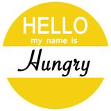 Hello my name is Lazy / Hungry