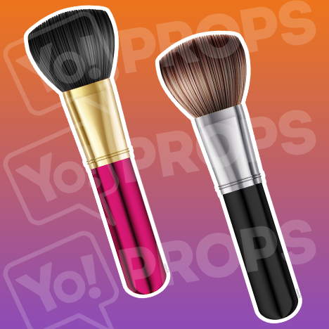 Beauty Props - Make Up Brush