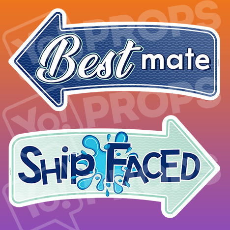 Wedding By The Sea Prop – Best Mate / Ship Face