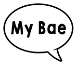 Oversized Speech Bubbles Bundle of (18)