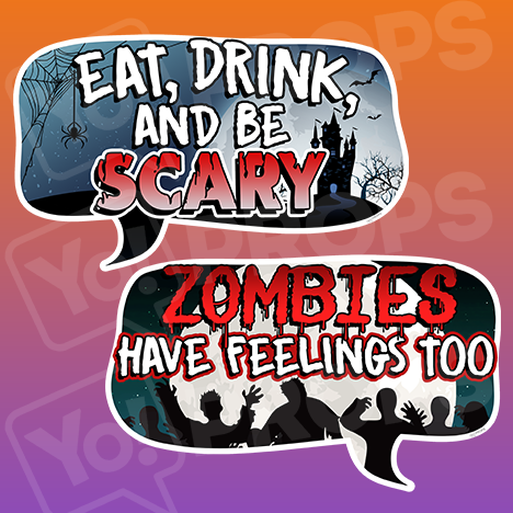 Halloween 2.0 - Eat, Drink, And Be Scary / Zombies Have Feelings Too