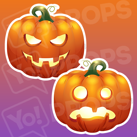Halloween 2.0 - Scary Pumpkin / Sad Pumpkin