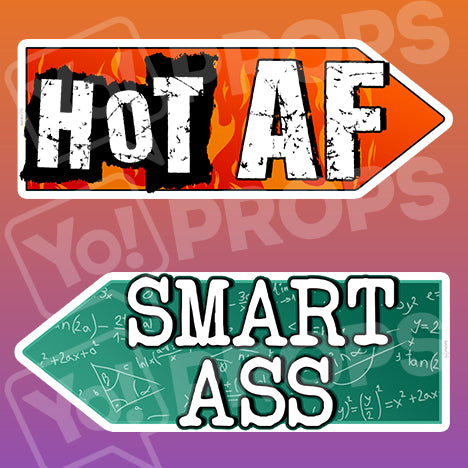 Adult 2.0 Prop – Hot AF/Smart Ass
