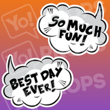 A Set Of (9) Signs – The Speech Bubble Bundle