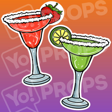 Drinking 2.0 Prop – Margarita Glass