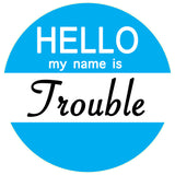 Hello my name is Flirty / Trouble