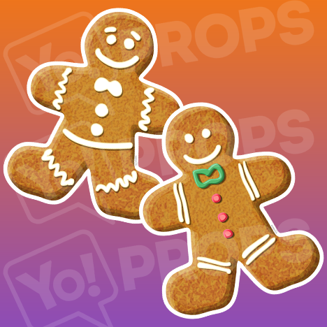 The Holiday/Christmas 3.0 Prop - (Gingerbread Man Prop)