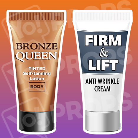 Beauty Props - Tanning Lotion / Anti Wrinkle Cream