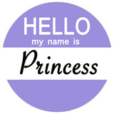 Hello my name is Bossy / Princess