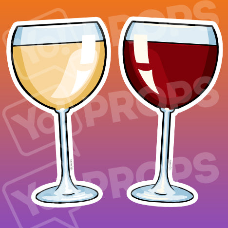Drinking 2.0 Prop – Wine Glass