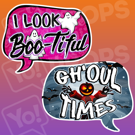 Halloween 2.0 - Gh'oul Times / I Look Boo-Tiful