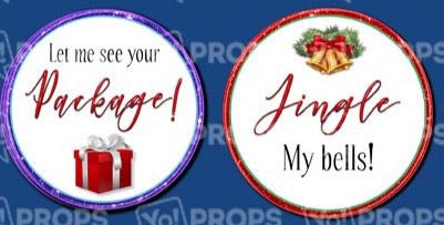 Adult Holiday Bundle-Jingle My Bells/Let me See your Package