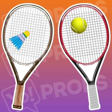 Sports - Badminton & Tennis Racket Prop