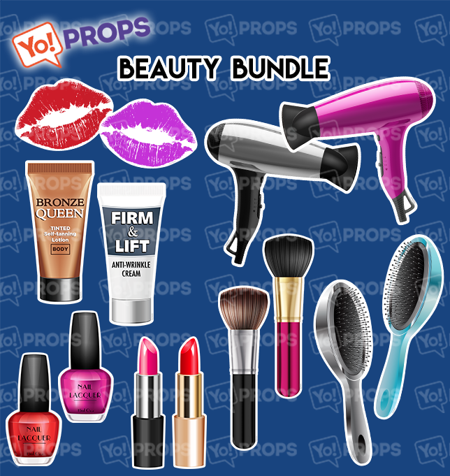 A Set Of (7) Props – The Beauty Bundle