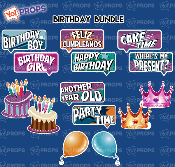 A Set of (7) Birthday Bundle