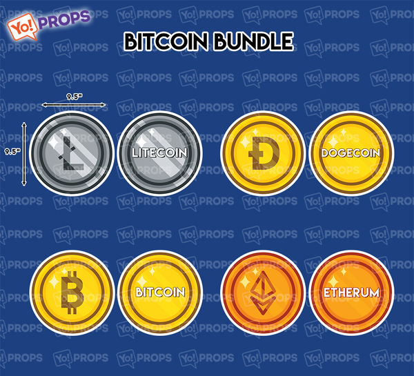A Set Of (4) Props – The Bitcoin Bundle