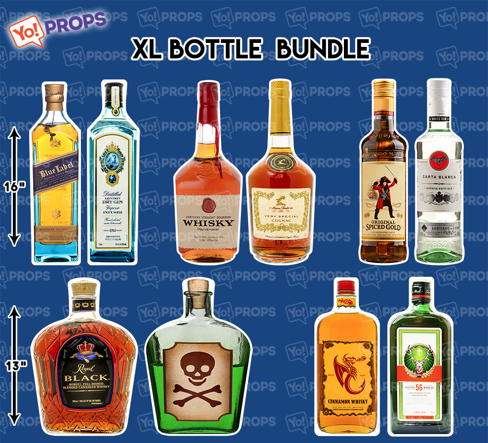 A Set of (5) Props - The Bottle Bundle