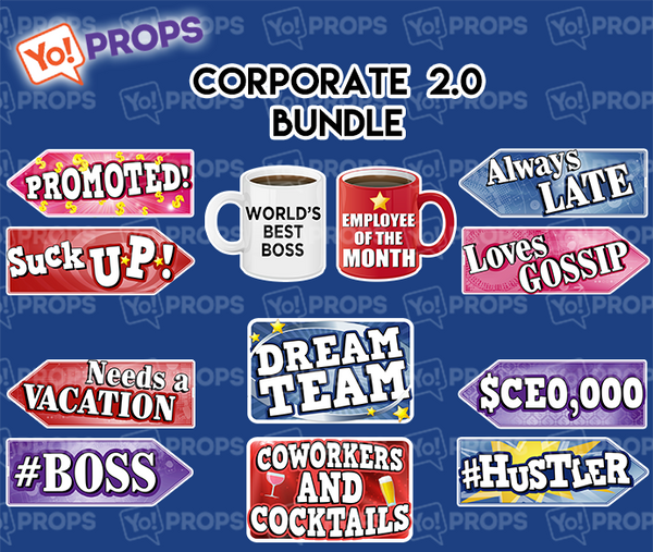 A Set Of (6) Signs – The Corporate 2.0 Bundle