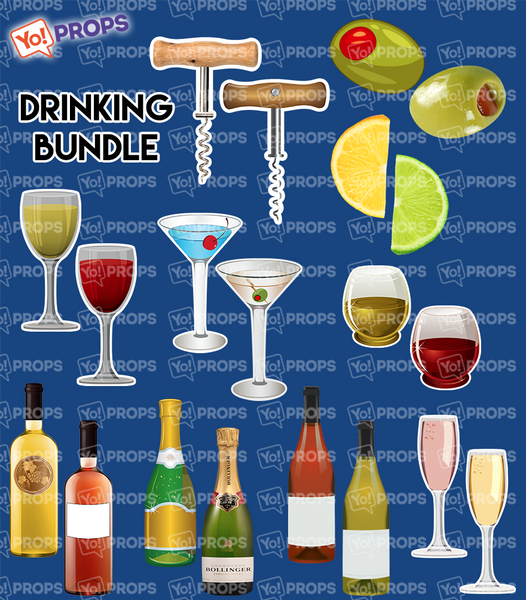 A Set Of (10) The Drinking Bundle
