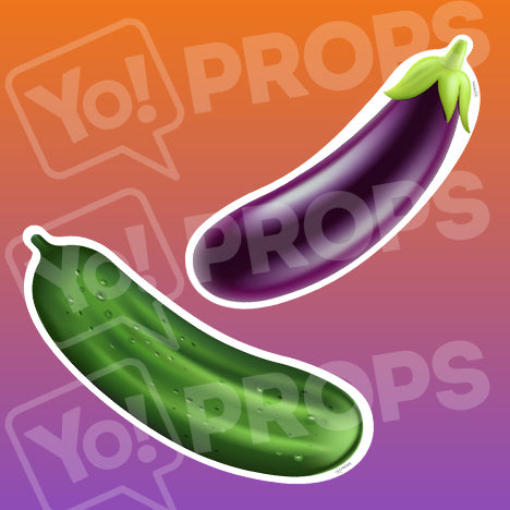 Eggplant/Pickle Prop
