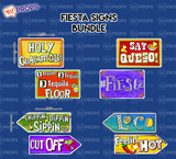 A Set Of (4) Signs – The Fiesta Signs