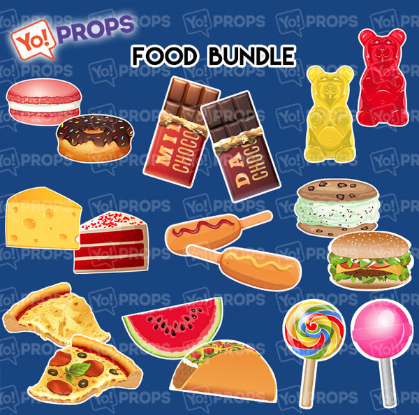 A Set Of (9) Signs – The Food Bundle