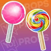 Food prop – Sucker Pop/Lollipop