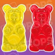 Food prop – Yellow/Red Gummy Bear