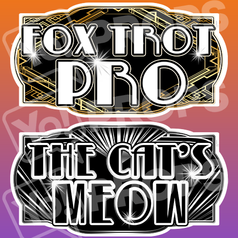 "Gatsby Prop – ""Fox Trot Pro / The Cat's Meow"""