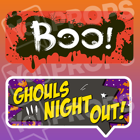 Halloween - Boo/Ghouls Night Out