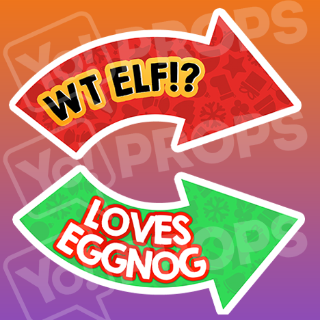 The Holiday/Christmas 1.0 Prop - (WT Elf!?/Loves Eggnog)