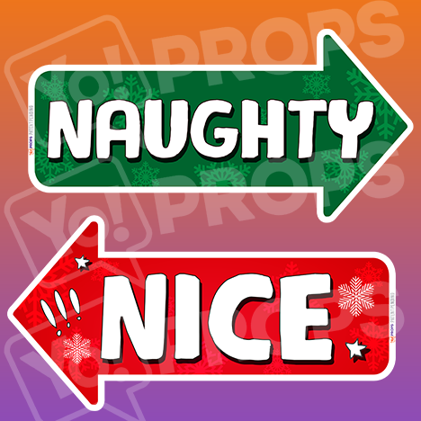 The Holiday/Christmas 2.0 Prop - (Naughty/Nice)