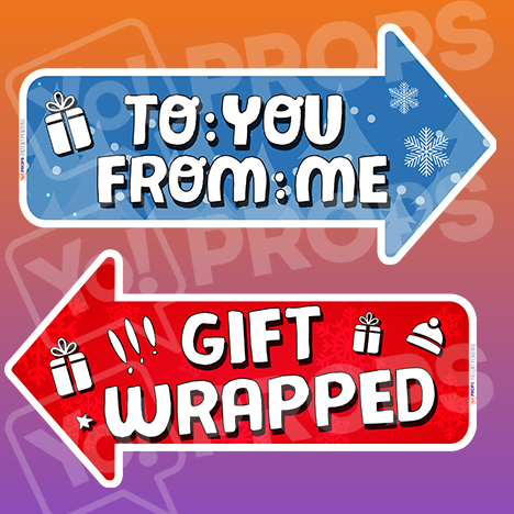 The Holiday/Christmas 2.0 Prop - (Gift Wrapped/To: You From: Me)