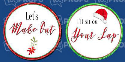 Adult Holiday Bundle-Let's Make Out/Sit on your Lap