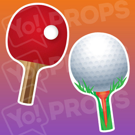 Sports - Paddle & Golf Tee Prop
