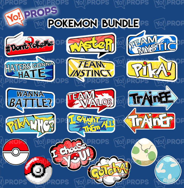 A Set of (9) The Pokemon Bundle
