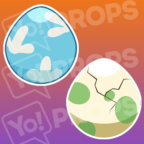 "Pokemon Prop – ""Eggs"""