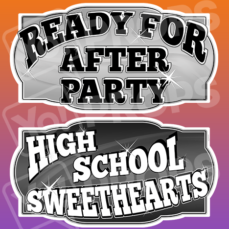 "Prom Prop – ""After Party / High School Sweethearts"""