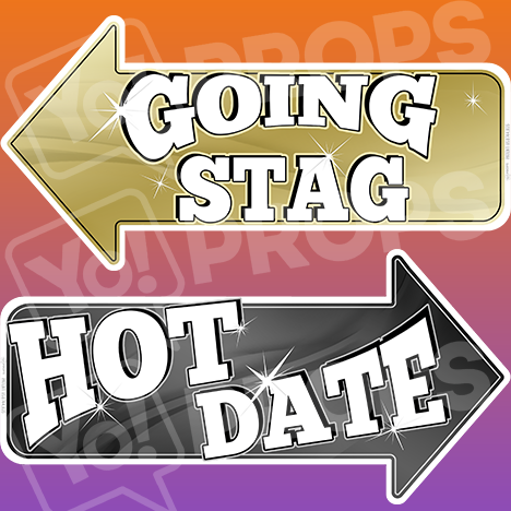 "Prom Prop – ""Going Stag / Hot Date"""