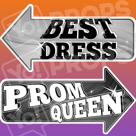 "Prom Prop – ""Best Dress / Prom Queen"""