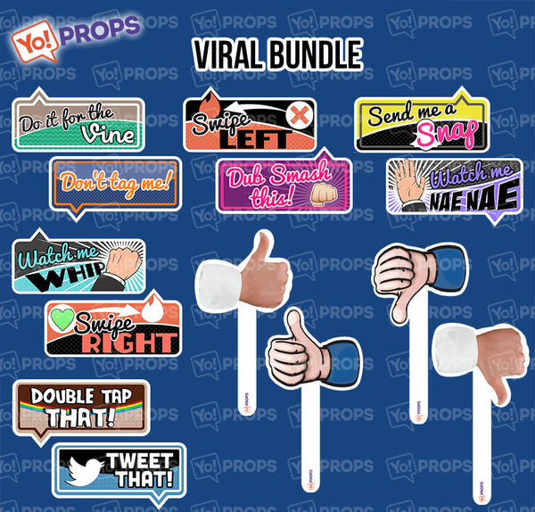 A Set Of (7) Props – The Viral Bundle