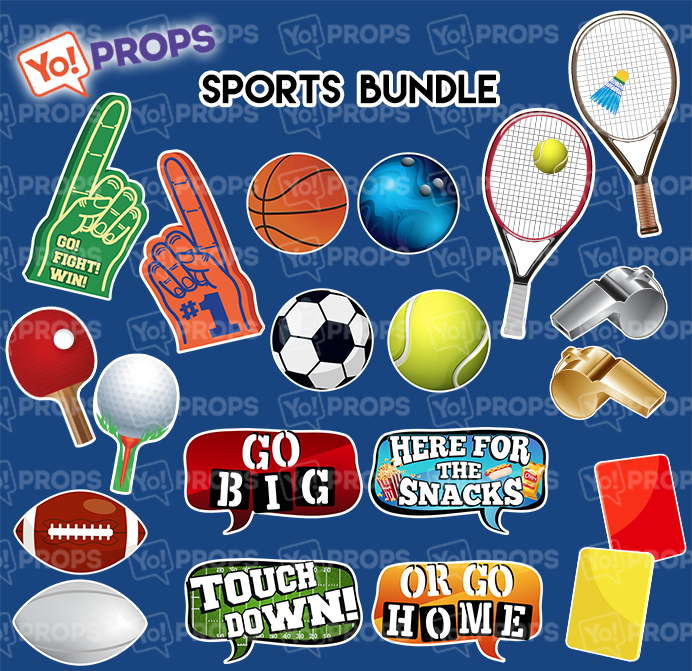 A Set Of (10) Signs – The Sports Bundle