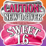 Sweet 16 – Caution: New Driver/Sweet 16