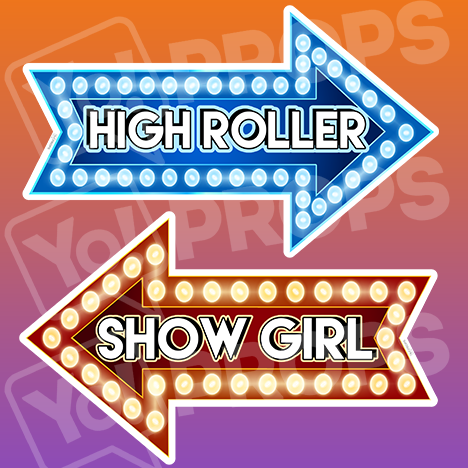 "Vegas Prop – ""Show Girl / High Roller"""