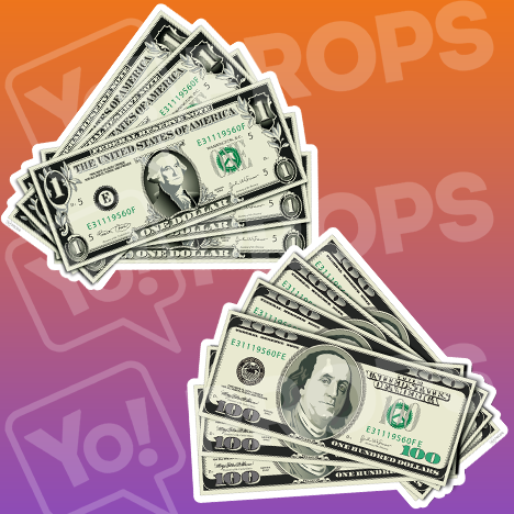 "Vegas Prop – ""Money"" – Dollar bills"