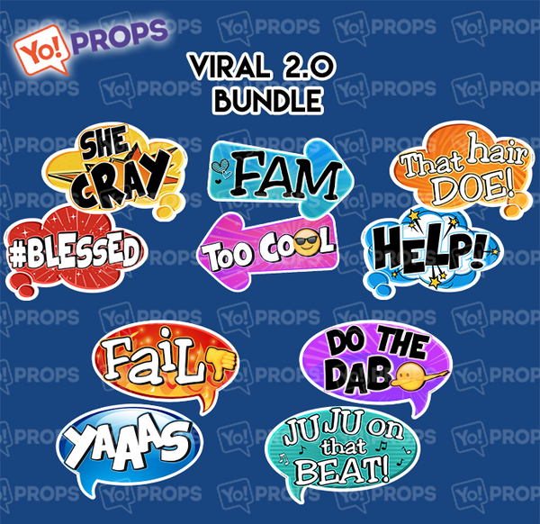 A Set Of (5) Signs – The Viral 2.0 Bundle