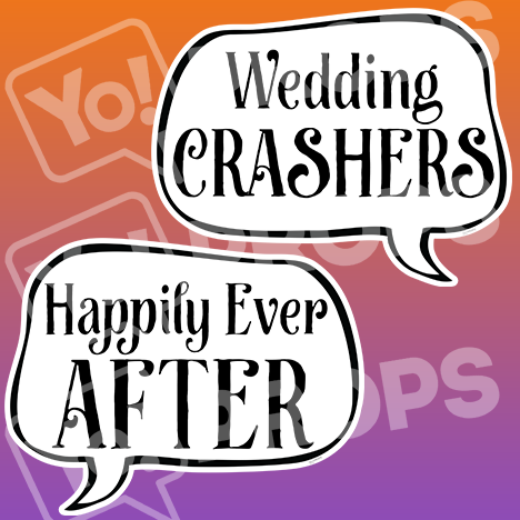 "Wedding Speech Prop – ""Wedding Crashers / Happily Ever After"""