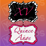 XV / Quince Anos Prop Sign